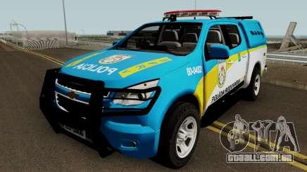 Chevrolet S10 PMERJ BPRv para GTA San Andreas