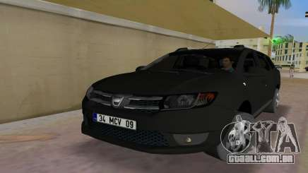 2013 Dacia Logan MCV para GTA Vice City
