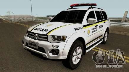 Mitsubishi Pajero Dakar Brazilian Police para GTA San Andreas