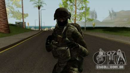 Expeditionary Soldier para GTA San Andreas