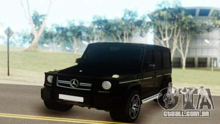 Mercedes-Benz AMG G63 vs G55 para GTA San Andreas