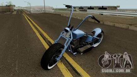 Western Motorcycle Zombie Bobber GTA V HQ para GTA San Andreas