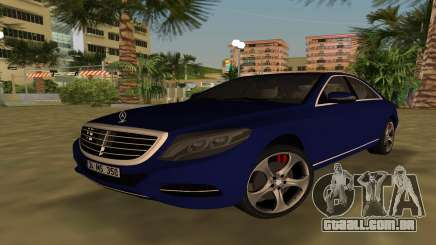 2015 Mercedes-Benz S350 Bluetec para GTA Vice City