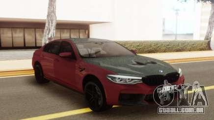 BMW M5 F90 Tuning para GTA San Andreas