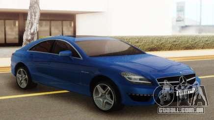 Mercedes-Benz CLS63 AMG Blue para GTA San Andreas