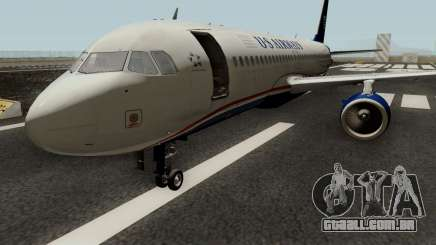 Airbus A320 US Airways para GTA San Andreas