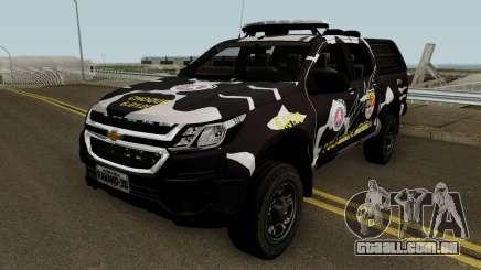 Chevrolet S-10 2018 CHOQUE PMBA para GTA San Andreas