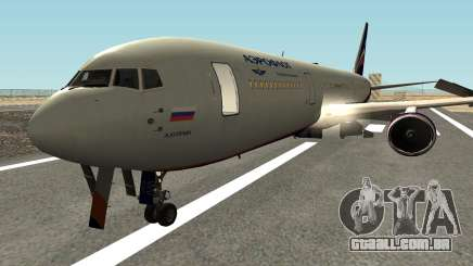 Boeing 767-300 Aeroflot Livery para GTA San Andreas