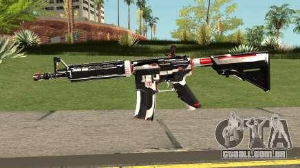 M4A4 TiiTree para GTA San Andreas