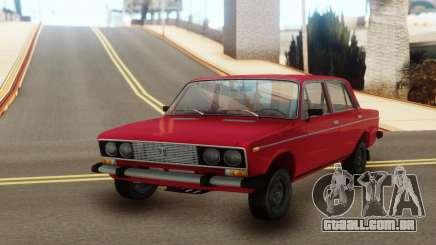 VAZ 2106 Vermelho clássico para GTA San Andreas