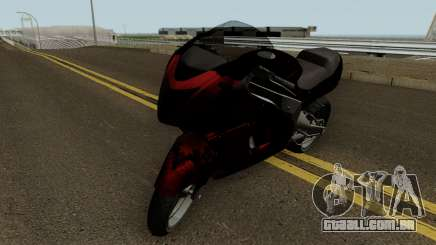 Hakuchou Custom from GTA 4 EFLC para GTA San Andreas
