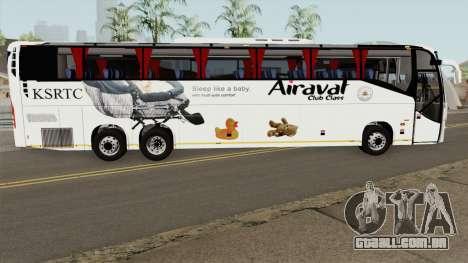 Volvo KSRTC AIRAVAT para GTA San Andreas