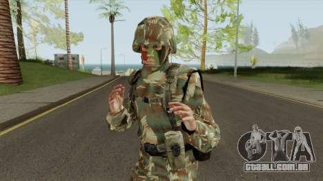 SKIN Fuzileiro Naval Marinha do Brasil para GTA San Andreas