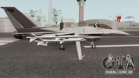 Lockheed Martin F-16L Overwatch Falcon para GTA San Andreas
