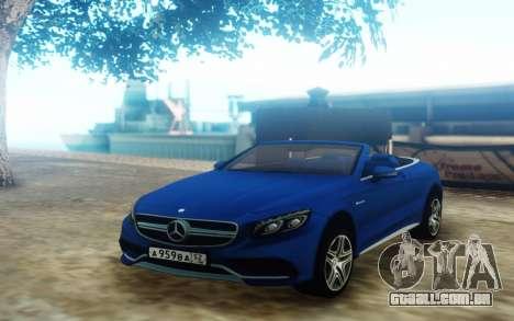 Mercedes-Benz S63 para GTA San Andreas