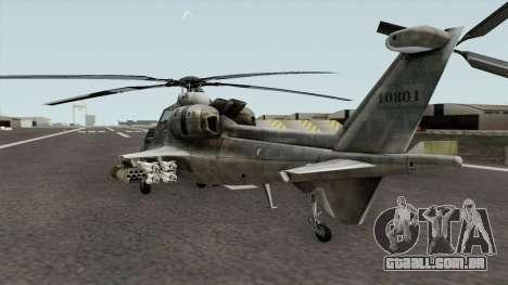 Z-10 para GTA San Andreas