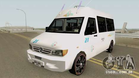 Mercedes Benz Sprinter para GTA San Andreas