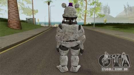 FNaF Fred Bear Grey v7 para GTA San Andreas