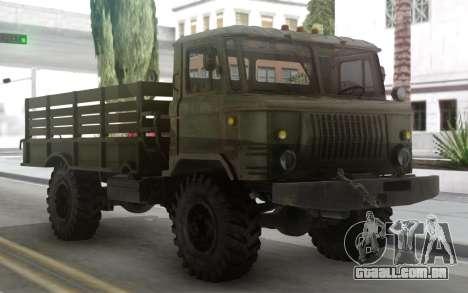 GAZ 66 com um corpo e Tende para GTA San Andreas