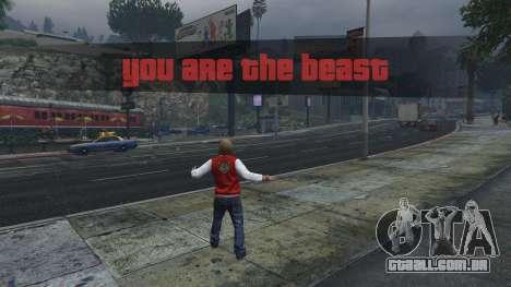 The Beast Mod 1.2 para GTA 5