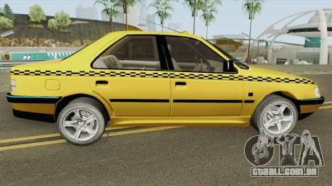 Peugeot 405 GLX TAXI NEW v2 para GTA San Andreas