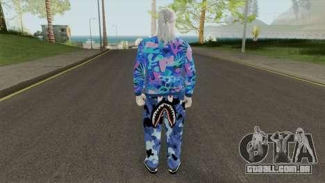 The Thug Witcher para GTA San Andreas