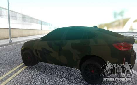 BMW X6 para GTA San Andreas