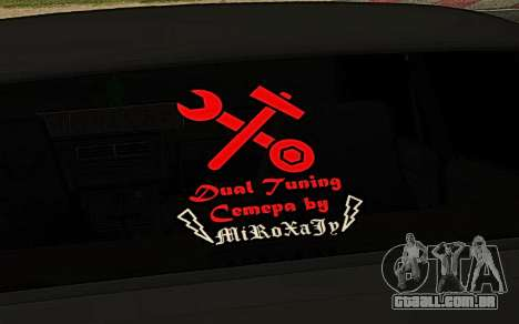 2107 DR1FT de Sete para GTA San Andreas