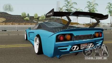 Airborne Mosler Super GT (Tyrus Style) Asphalt 8 para GTA San Andreas
