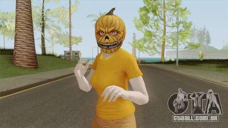 GTA ONLINE Halloween Skin Female para GTA San Andreas