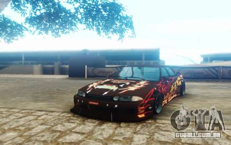 Nissan Skyline ER32 BN Sports para GTA San Andreas
