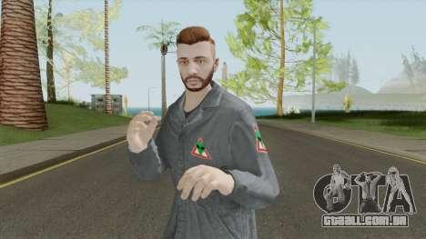 GTA Online Skin Alienbuster Male para GTA San Andreas
