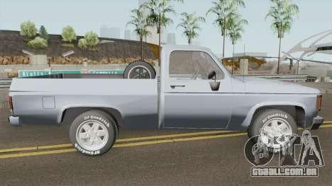Chevrolet D20 IVF para GTA San Andreas