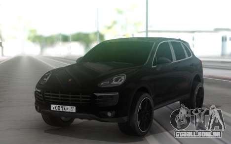 Porshe Cayenne S para GTA San Andreas