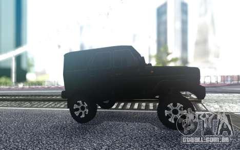 UAZ caçador de Trenó FSB para GTA San Andreas