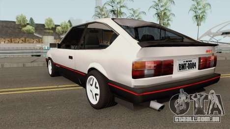 Chevrolet Monza SR Hacth Doors para GTA San Andreas