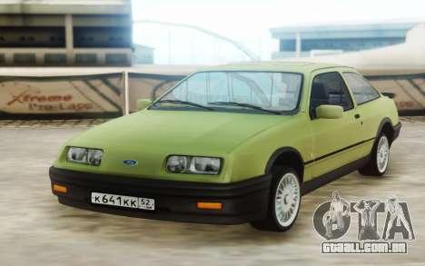 Ford Sierra para GTA San Andreas