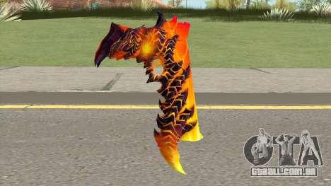 Rules of Survival Deagle Magma Demon para GTA San Andreas