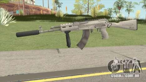 Modern AK47 Silenced para GTA San Andreas