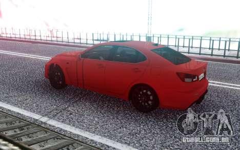 Lexus IS-F 2007 para GTA San Andreas