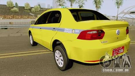 Volkswagen Voyage G6 Taxi RJ Laranjeiras para GTA San Andreas