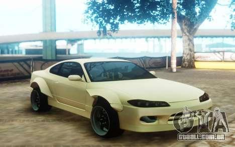 Nissan Silvia S15 Custom Fenders para GTA San Andreas