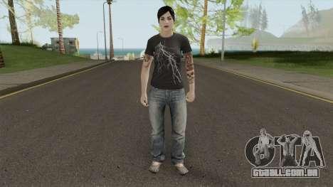 GTA Online: Paige Harris para GTA San Andreas