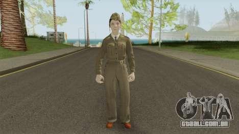 Call of Duty WWII: Corporal Green para GTA San Andreas