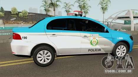 Volkswagen Voyage G6 PMERJ para GTA San Andreas