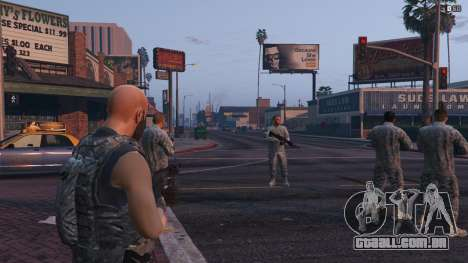 Warfare MOD 1.0 para GTA 5