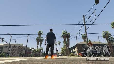 Flaming Footprints 1.0 para GTA 5