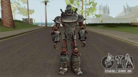 Fallout 3 Liberty Prime para GTA San Andreas