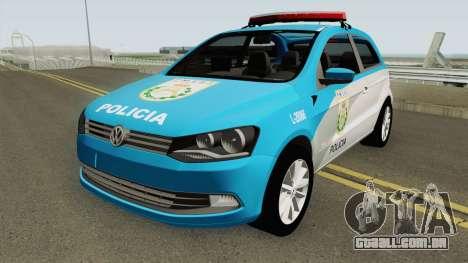 Volkswagen Gol G6 PMERJ para GTA San Andreas