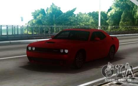 Dodge Challenger SRT para GTA San Andreas